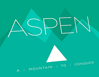 Aspen - A moutain to conquer.