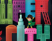Children's Museum Poster - Super City