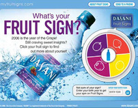 "Dasani Water ""Fruitology"""