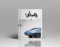 WHEELS / Magazine design