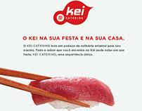 Advertising for KEI Restaurant