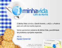 Mala direta | Convite para café da manhã