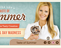Marble Slab Sandra Lee's Taste of Summer