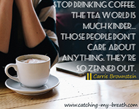 Stop drinking coffee.