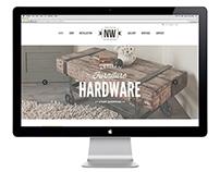 NW Artisan Hardware Website