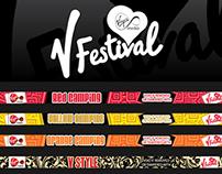 V Festival 2013 Wristbands