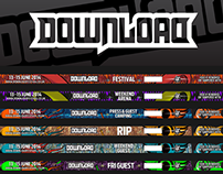 Download Festival 2014 Wristbands
