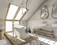 bathroom interior~ scandinavian style