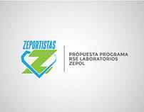 """Zeportistas"" / Programa RSE Laboratorios Zepol"