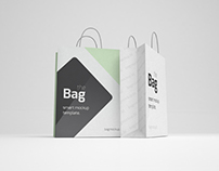 Free Bag Mockup (Psd)