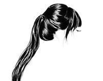 Hair Illustration