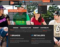 540 Brands - Website