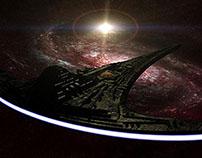 Stargate Universe Set Photos