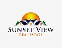 Sunset View Real Estate Logo