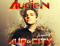 Audien AUDaCITY Tour Image Design