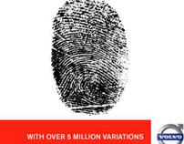 """Volvo C30 """"Fingerprint"""" Banner"""