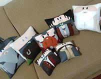 Handmade Lord of the Rings LOTR Plush Pillow Set 2