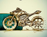 Black Llama Design Edit MOTORCYCLES.