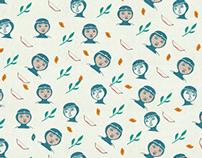 动画系列平铺壁纸