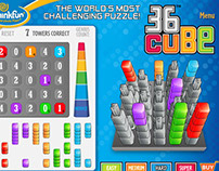 36 Cube flash app
