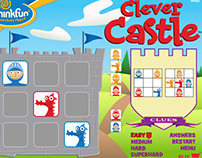 Clever Castle flash app for kids