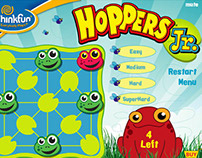 Hoppers Jr. flash app