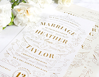 Erickson Wedding Invitation