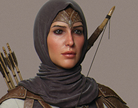 Ghada Cinematic Character