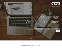 Shirtshops Landing Page