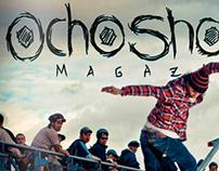 Revista 8 Shortys - Trabajo Editorial.
