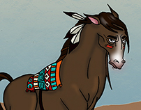Character Design: Bullit the Talking Horse
