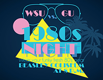 80s night  |  Washington State Cougars Basketball
