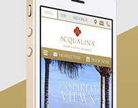 Acqualina Mobile Site