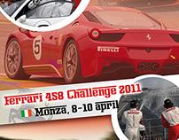 Flyer Ferrari 458 Challenge Monza