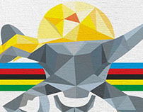 Marco Pantani for Cycle! magazine