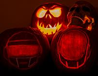 Daft Punk Halloween Jack-O-lantern