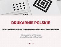 Drukarnie Polskie - webdesign/animations