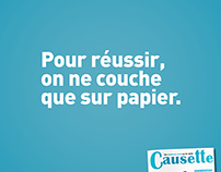 CAUSETTE / Advertising Campaign