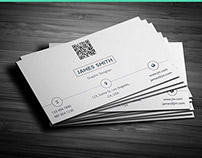 Creative & Minimal Business Card Template