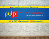 Banner pubblicitario: Pulp Production