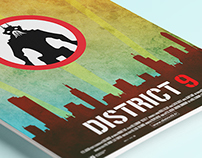 District 9 minimal poster