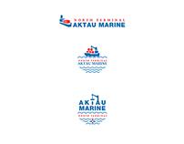 Логотип  «Aktau Marine»