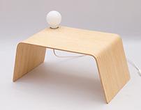 LAMINA  /  Bamboo bedside table