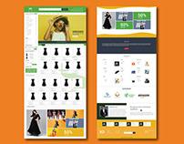 Ecommerce website ׀ UI Design ׀ Complete Design