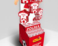 EURO 2012 POS Stand