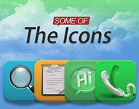 Some of the icons