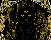 Black cat - Urgh Clothing