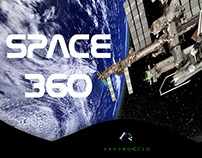 Interactive virtual tour from space