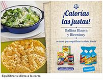 Easypromo de Facebook para Gallina Blanca y Bicentury