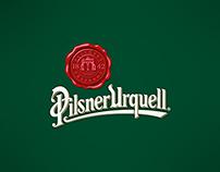 Key visuals for Pilsner Urquell